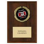 XBX Dog Show Medal Award Plaque