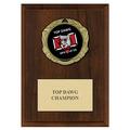 XBX Dog Show Medal Award Plaque