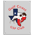 Full Color Dog Show Wall Plaque - Rectangle Shape