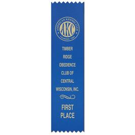 Pinked Top Award Ribbon