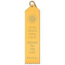 Point Top Award Ribbon
