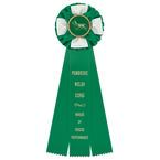 Iverson Dog Show Rosette Award Ribbon