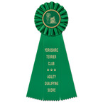 Ideal Dog Show Rosette Award Ribbon
