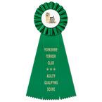 Ideal Dog Show Rosette Award Ribbon