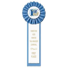 Master Dog Show Rosette Award Ribbon