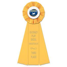 Empire Dog Show Rosette Award Ribbon