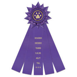 Finchley Rosette Dog Show Award Ribbon