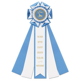 Royston Rosette Dog Show Award Ribbon