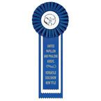 Alton Dog Show Rosette Award Ribbon
