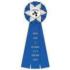 Ewell Dog Show Rosette Award Ribbon