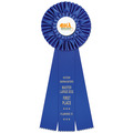 Eden Dog Show Rosette Award Ribbon
