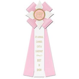 Dorset Dog Show Rosette Award Ribbon
