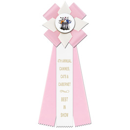 Dorset Dog Show Rosette Award Ribbon