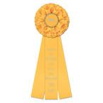 Rutland Dog Show Rosette Award Ribbon