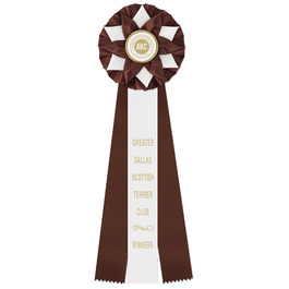 Exeter Dog Show Rosette Award Ribbon