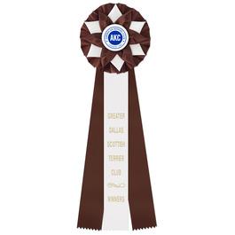 Exeter Dog Show Rosette Award Ribbon
