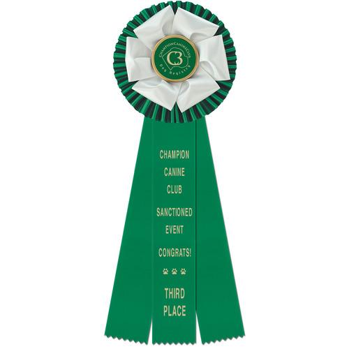 Duke Rosette Dog Show Award Ribbons Hodges Badge Company