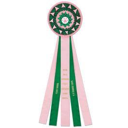 Sparkford Dog Show Rosette Award Ribbon