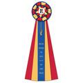 Newton Dog Show Rosette Award Ribbon