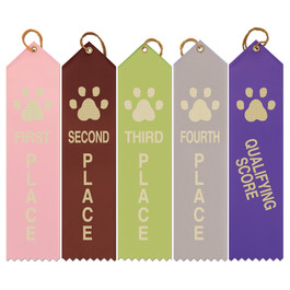 Paw Print Place Dog Show Ribbons