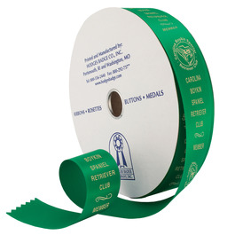 Dog Show Award Ribbon Roll