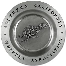 Casted Presentation Dog Show Award Tray