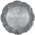 Gadroon Dog Show Award Plate