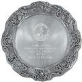 Gadroon Dog Show Award Plate