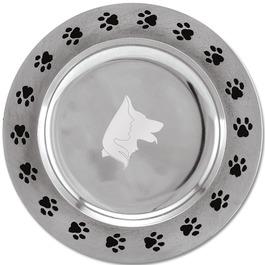Paw Print Rim Dog Show Award Plate