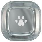 Paw Print Silver Dog Show Award Tray