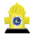 Birchwood Hydrant Dog Show Award Trophy w/ Black Base
