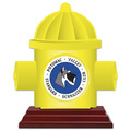 Birchwood Hydrant Dog Show Award Trophy w/ Rosewood Base