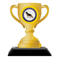 Birchwood Loving Cup Dog Show Award Trophy w/ Black Base