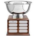 Revere Bowl Dog Show Award Trophy w/ Perpetual Base