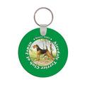 Round Dog Show Keychain