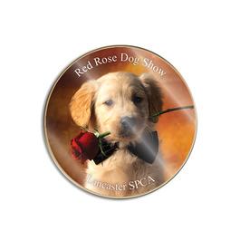 Dog Show Lapel Pins - Photo Printed