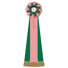 Eastwood Rosette Dog Show Award Ribbon