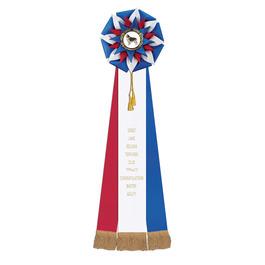 Stafford Rosette Dog Show Award Ribbon