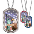 Full Color GEM Citizenship Dog Tag