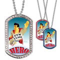 Full Color GEM Gym Class Hero Dog Tag