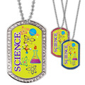 Full Color GEM Science Dog Tag