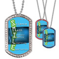 Full Color GEM S.M.I.L.E. Dog Tag
