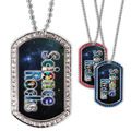 Full Color GEM Science Rocks Dog Tag