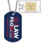 Custom Dog Tags w/ Engraved Plate