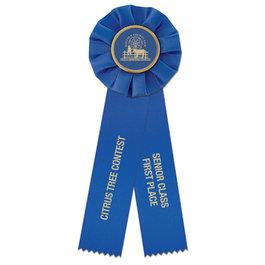 Empire 2 Rosette Award Ribbon