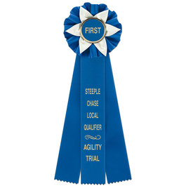 Ewell Rosette Award Ribbon