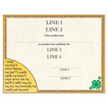 Custom Fair, Festival & 4-H Award Certificate - 4-H Design