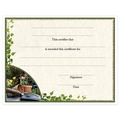 In-Stock Full Color Fair, Festival & 4-H Award Certificate - Gardening Design
