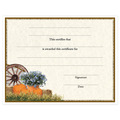 In-Stock Full Color Fair, Festival & 4-H Award Certificate - Wagon Design