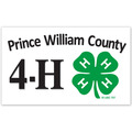 Rectangular Fair, Festival & 4-H Window Decal